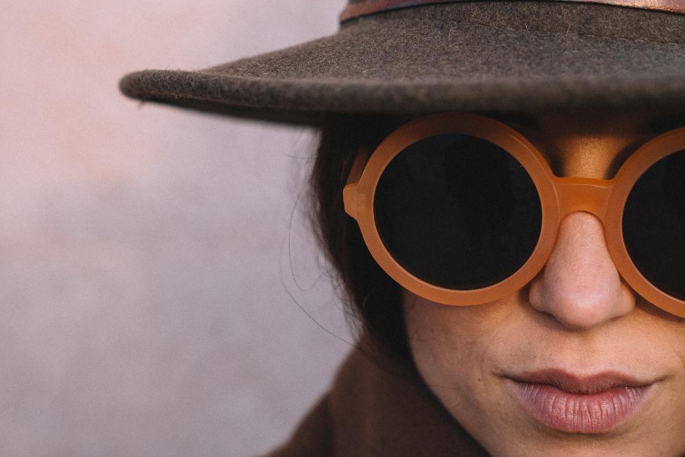 occhiali farben f8 arancio